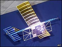 Nasa's laser-powered test plane