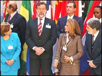 Representantes de los países que integran el G-20 Plus, reunidos en Buenos Aires.