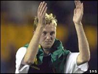Scotland's matchwinner, Stephen Hughes