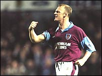 Iain Dowie in his West Ham days