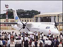 Air Deccan launch in August 2003