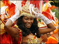 Carnival dancer from 2003