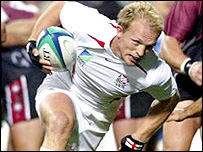 Matt Dawson in action against Georgia