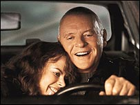 Anthony Hopkins and Nicole Kidman in The Human Stain