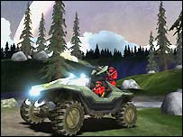 Screenshot from Halo
