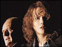 Nicole Kidman and Anthony Hopkins in The Human Stain, about a classics professor with a huge secret