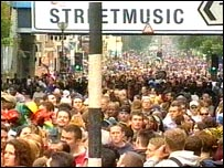 Crowds at this year's carnival