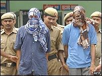 Police detain two Lashkar-e-Toiba suspects in Delhi (File picture)