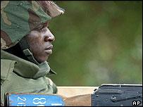 Nigerian peacekeeper