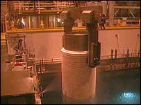Thorp reprocessing plant at Sellafield