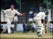 Saggers takes a wicket