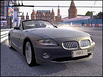 Screenshot from Project Gotham Racing 2