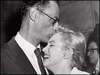 Arthur Miller with Marilyn Monroe