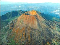 Vesuvius volcano (BBC Horizon)