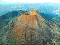 Vesuvius volcano (BBC Horizon)