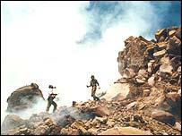 Fumarole volcano (BBC Horizon)
