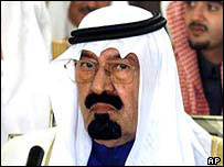 Crown Prince Abdullah, Saudi Arabia's de facto ruler