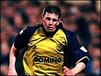 Paul Brooks in action for Oxford