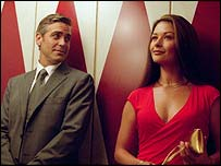 George Clooney y Catherine Zeta-Jones