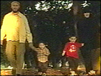 Craigavon's imam and his wife and two children