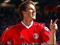 Charlton midfielder Scott Parker