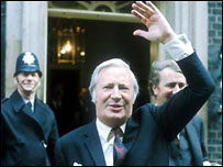 Ted Heath in 1970