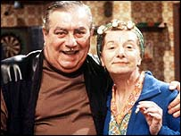 Stan and Hilda Ogden - Bernard Youens and Jean Alexander