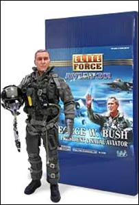 President Bush action figure