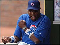 Chicago Cubs manager Dusty Baker