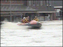 Flooding in Uckfield