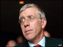 British Foreign Minister, Jack Straw