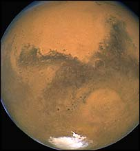 Mars taken by Hubble Space Telescope (Space Telescope Science Institute)