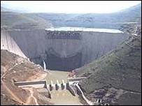 Lesotho's Katse Dam
