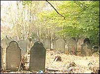 The former Wesleyan cemetery at Cheetham Hill