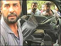 Scene of Baghdad blast