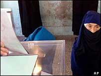 Voters in last year's legislative elections
