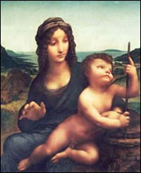 Madonna with the Yarnwinder - from Drumlanrig Castle website