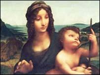 Madonna with the Yarnwinder - from Drumlanrig castle website