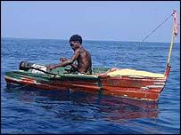 Fishing boat, WWF