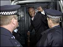 Chris Eubank is arrested