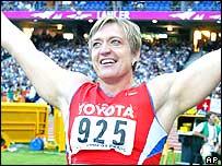 Russia's Svetlana Krivelyova