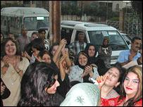 Baghdad wedding party