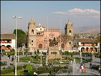 Ayacucho's main square