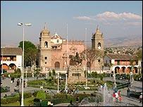 Ayacucho's main square