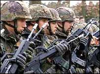 Nato peacekeepers