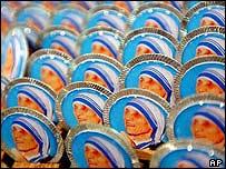Medallitas de la Madre Teresa