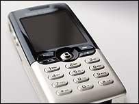 Телефон компании Sony Ericsson