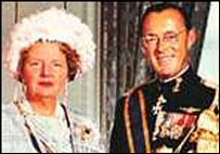 Queen Juliana and Prince Bernhard