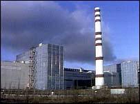 Sosnovy Bor power station, outside St Petersburg
