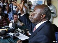 Rwandan opposition leader Faustin Twagiramungu